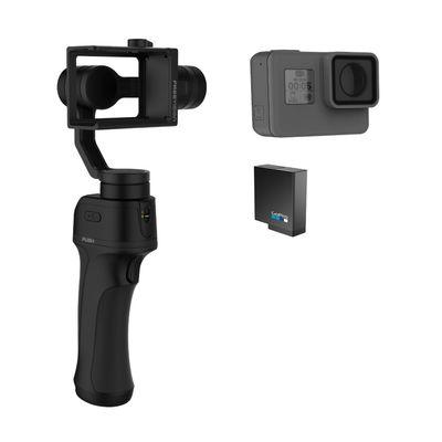 Für weitere Info hier klicken. Artikel: GoPro Hero5 Black inkl. Freevision Gimbal & Gopro Zusatz Akku schwarz