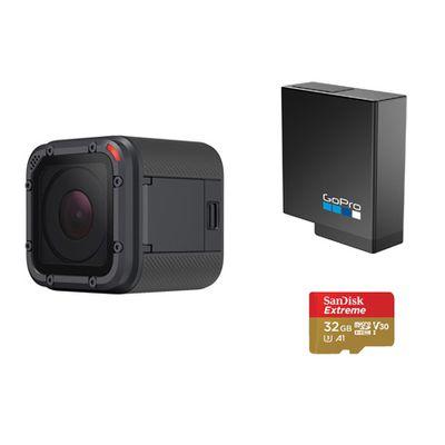 Für weitere Info hier klicken. Artikel: GoPro Hero5 Session+ Akku+ 32 GB micro SDHC