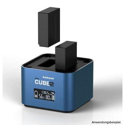 Für weitere Info hier klicken. Artikel: Hähnel proCUBE2 Doppelschacht-Ladegerät Fujifilm, Panasonic
