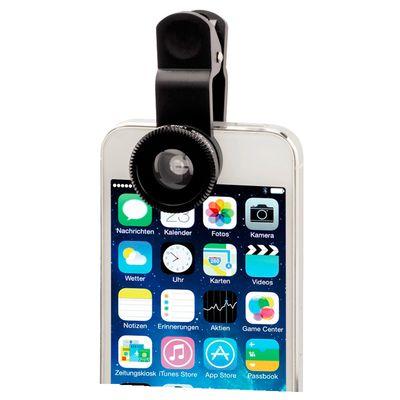 Für weitere Info hier klicken. Artikel: Hama 3in1-Objektiv-Set Uni für Smartphones und Tablets