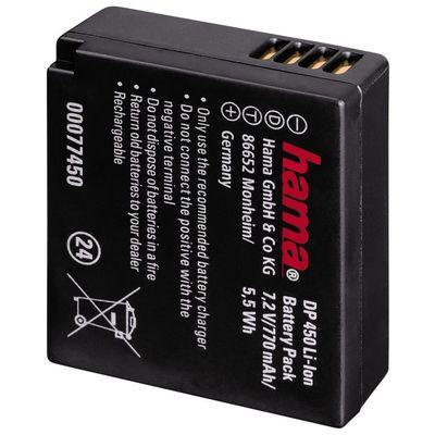 Für weitere Info hier klicken. Artikel: Hama Akku DP-450/Panasonic DMW-BLG10