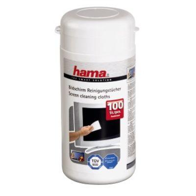 Für weitere Info hier klicken. Artikel: Hama Bildschirm-Reinigungstücher 100 Stück