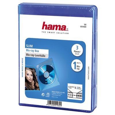 Für weitere Info hier klicken. Artikel: Hama Blu-Ray Slim-Leerhülle 3er