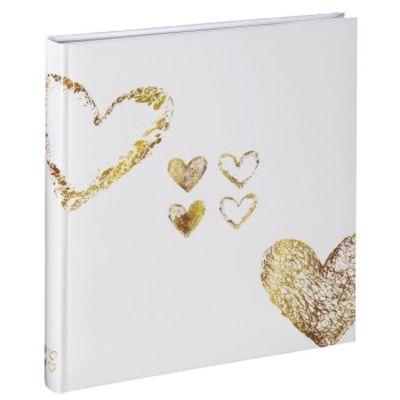 Für weitere Info hier klicken. Artikel: Hama Buch-Album Lazise, 29x32 cm, 50 weiße Seiten, Gold