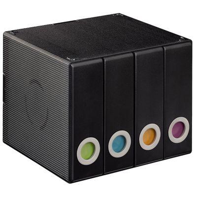 Für weitere Info hier klicken. Artikel: Hama CD- / DVD-Album Box 96 schwarz-transparent