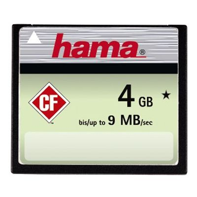 Für weitere Info hier klicken. Artikel: Hama CF-Card Highspeed 4 GB