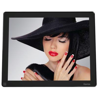 hama digitaler bilderrahmen 121slp 30 73 cm slim acryl musik video 12 1 zoll 118596. Black Bedroom Furniture Sets. Home Design Ideas