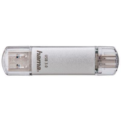 Für weitere Info hier klicken. Artikel: Hama FlashPen C-Laeta, Type-C USB 3.1/USB 3.0, 40 MB/s silber 128 GB
