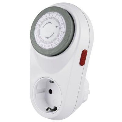 Für weitere Info hier klicken. Artikel: Hama Mechanische Zeitschaltuhr Curved Weiß