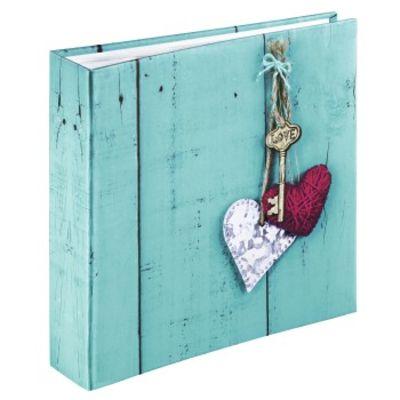 Für weitere Info hier klicken. Artikel: Hama Memo-Album Rustico, für 200 Fotos im Format 10x15 cm, Love Key