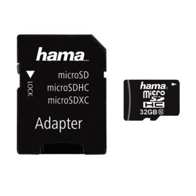 Für weitere Info hier klicken. Artikel: Hama microSDHC Class 10 + Adapter / Mobile 32 GB