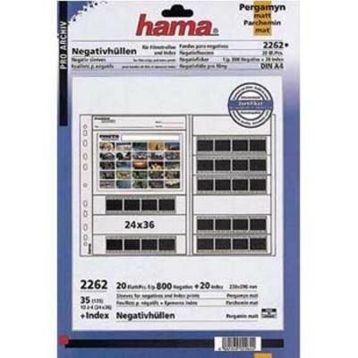 Für weitere Info hier klicken. Artikel: Hama Negativhüllen 35 mm 10 Streif. 20 Bl.