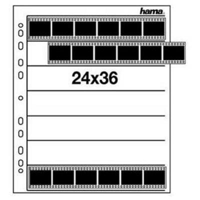 Für weitere Info hier klicken. Artikel: Hama Negativhüllen klar 25 Blätter für 28/40 Negative/Dias, 24 x 36 mm