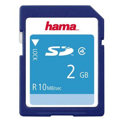 Für weitere Info hier klicken. Artikel: Hama SD Class 4 2 GB