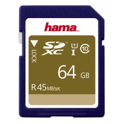 Für weitere Info hier klicken. Artikel: Hama SDXC Class 10 UHS-I 45MB/s 64 GB