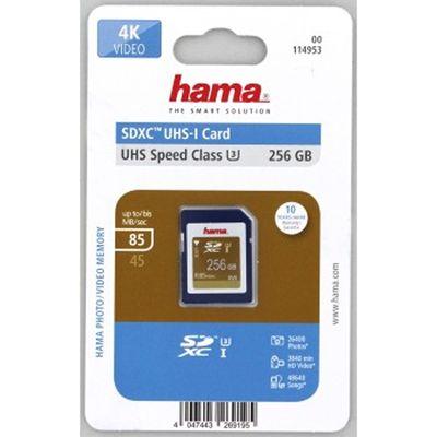 Für weitere Info hier klicken. Artikel: Hama SDXC UHS-I, U3, V30, 85MB/s 256 GB
