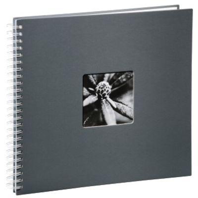 Für weitere Info hier klicken. Artikel: Hama Spiral-Album Fine Art, 36 x32 cm, 50 weiße Seiten grau
