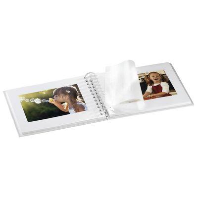 Für weitere Info hier klicken. Artikel: Hama Spiral-Album Twinkle, 24x17 cm, 50 weiße Seiten Rosé