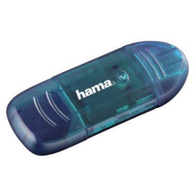 Für weitere Info hier klicken. Artikel: Hama USB-2.0-Kartenleser, SD, Blau