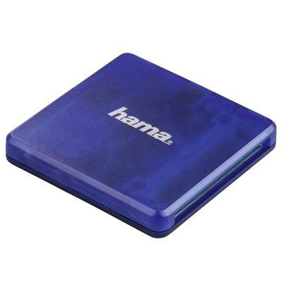 Für weitere Info hier klicken. Artikel: Hama USB-2.0-Multikartenleser SD/microSD/CF blau