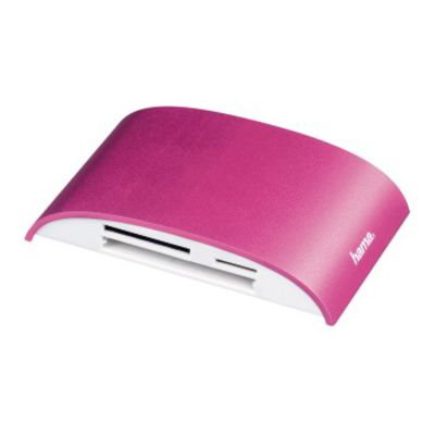 Für weitere Info hier klicken. Artikel: Hama USB-3.0-Multikartenleser Pro, SD/microSD/CF/MS/xD, Alu, Pink