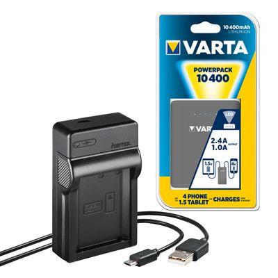 Für weitere Info hier klicken. Artikel: Hama USB-Ladegerät Travel + Powerbank Canon LP-E10