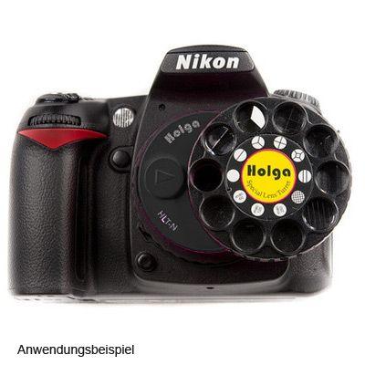Für weitere Info hier klicken. Artikel: Holga 60mm f/8,0 mit Filterrevolver Nikon FX