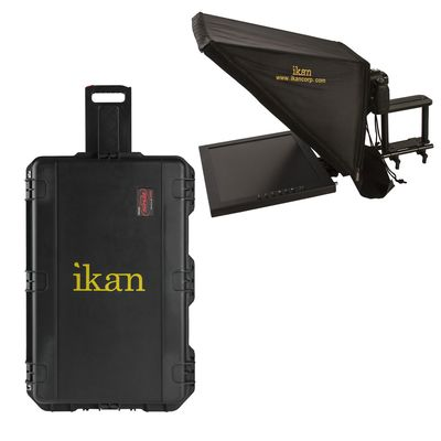 Für weitere Info hier klicken. Artikel: Ikan 17 Zoll High Bright Beam Splitter Teleprompter with Hard Case Travel Kit