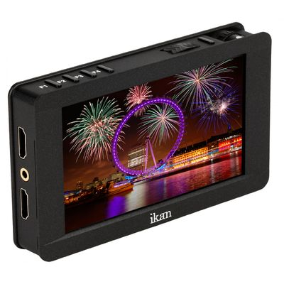 Für weitere Info hier klicken. Artikel: Ikan DH5e 5 Zoll 4K Support HDMI On-Camera LCD Field Monitor Deluxe Kit Canon 900 Series