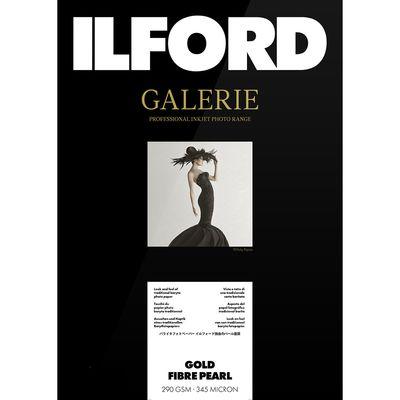 Für weitere Info hier klicken. Artikel: Ilford Druckerpapier GALERIE Gold Fibre Pearl 290gsm 25 Blatt A3