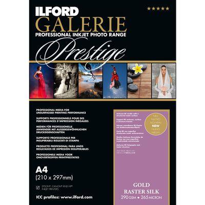 Für weitere Info hier klicken. Artikel: Ilford Druckerpapier GALERIE Prestige Gold Raster Silk 25 Blatt A4