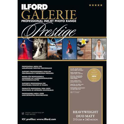 Für weitere Info hier klicken. Artikel: Ilford Druckerpapier GALERIE Prestige Heavyweight DUO Matt 50 Blatt A3+