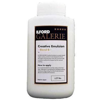 Für weitere Info hier klicken. Artikel: Ilford Galerie Creative Emulsion Blend B 1 Liter