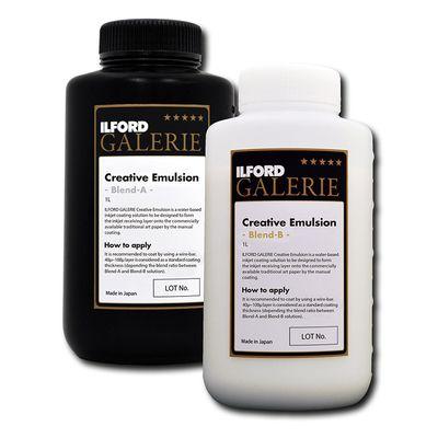 Für weitere Info hier klicken. Artikel: Ilford Galerie Creative Emulsion Blend A 1 Liter