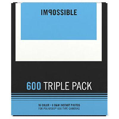 Für weitere Info hier klicken. Artikel: Impossible Sofortbildfilm 600 Triple Pack