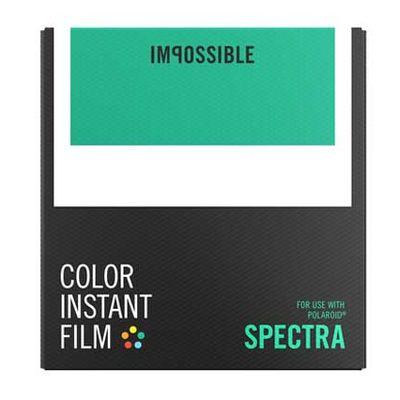 Für weitere Info hier klicken. Artikel: Impossible Sofortbildfilm Color Image/Spectra