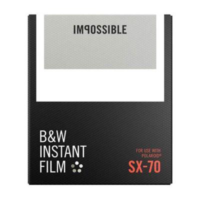 Für weitere Info hier klicken. Artikel: Impossible Sofortbildfilm s/w SX 70