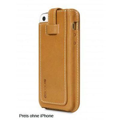 Für weitere Info hier klicken. Artikel: Incase Leder Sleeve iPhone 5/5s braun