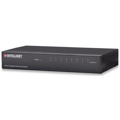 Für weitere Info hier klicken. Artikel: Intellinet 8-Port Gigabit Ethernet Switch schwarz