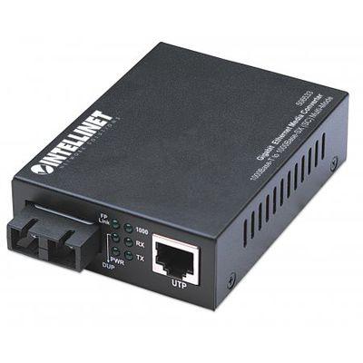 Für weitere Info hier klicken. Artikel: Intellinet Gigabit Ethernet Medienkonverter schwarz