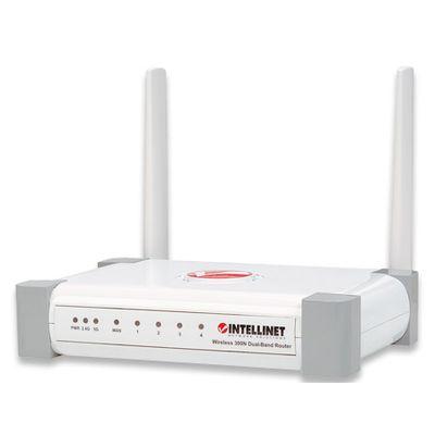 Für weitere Info hier klicken. Artikel: Intellinet Wireless 300N Dual-Band Router weiß