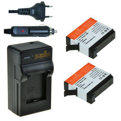 Für weitere Info hier klicken. Artikel: Jupio Akku 2x Battery GoPro AHDBT-401 HERO4 1160 mAh + Charger