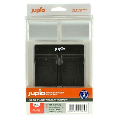 Für weitere Info hier klicken. Artikel: Jupio Akku Canon Jupio Kit: 2x Battery LP-E6N ULTRA 2040mAh + USB Dual Charger