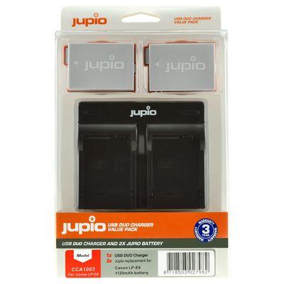 Für weitere Info hier klicken. Artikel: Jupio Akku Canon Jupio Kit: 2x Battery LP-E8 1120mAh + USB Dual Charger