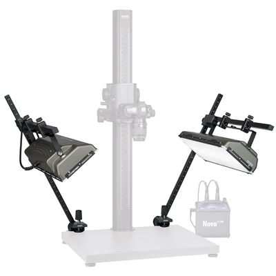Für weitere Info hier klicken. Artikel: Kaiser /Hensel Blitz-/Dauerlicht-Beleuchtungseinrichtung CopyOne Repro Kit