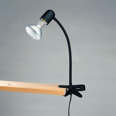 passende artikel zu kaiser klemmleuchte mit schwanenhals 3102. Black Bedroom Furniture Sets. Home Design Ideas
