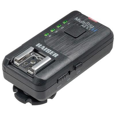 Für weitere Info hier klicken. Artikel: Kaiser Funkauslöser-Set basic MultiTrig AS 5.1 für Kamera oder Blitz