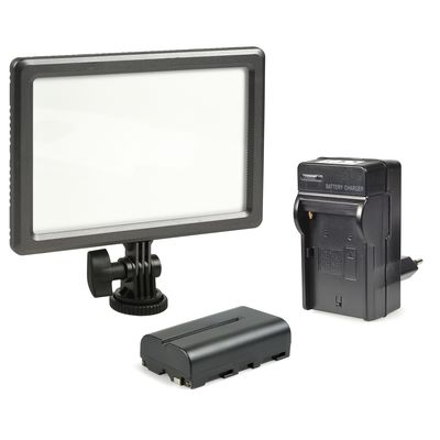 Für weitere Info hier klicken. Artikel: Kaiser NanGuang NANLITE LED-Kameraleuchte Luxpad 23