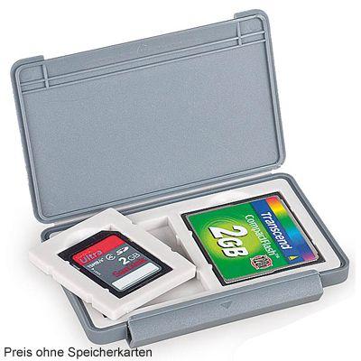 Für weitere Info hier klicken. Artikel: Kaiser Speicherkartenbox für 2 Karten grau