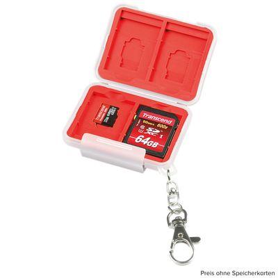 Für weitere Info hier klicken. Artikel: Kaiser Speicherkartenbox, für 4 Speicherkarten SD und 4 Speicherkarten microSD